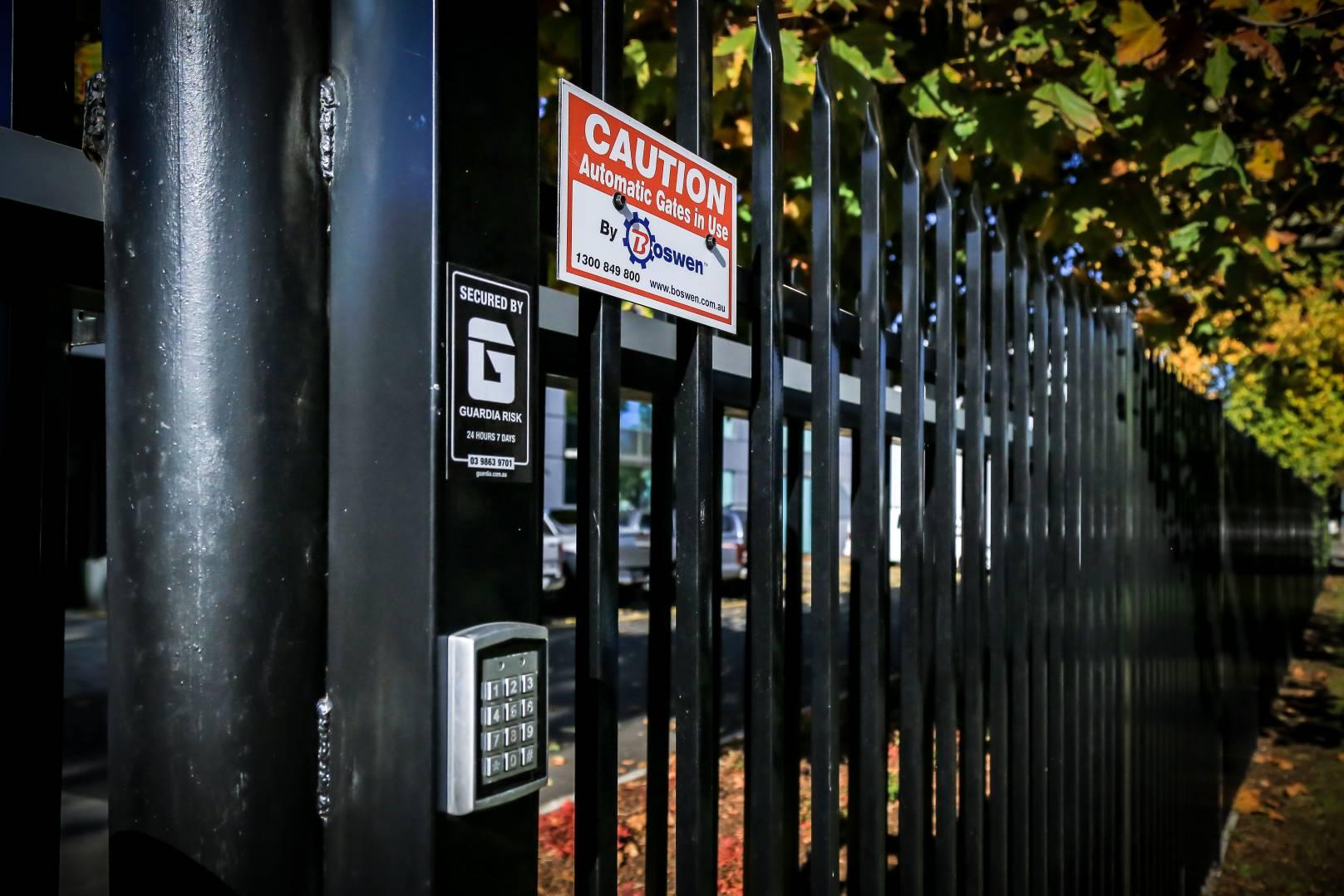 Automatic gates installation services Melbourne - Boswen