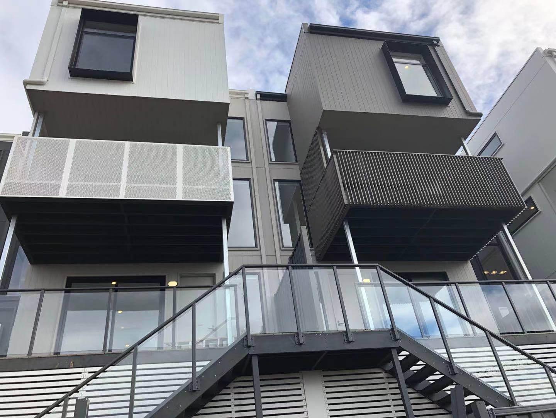 Metal balustrades installation services Melbourne - Boswen gates and fences